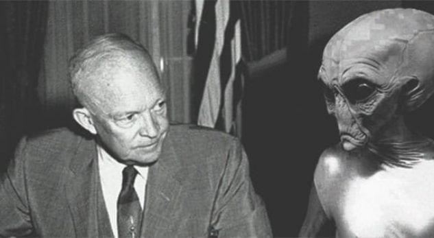 Ish-këshilltari i Pentagonit: Presidenti Eisenhower pati 3 takime me alienët