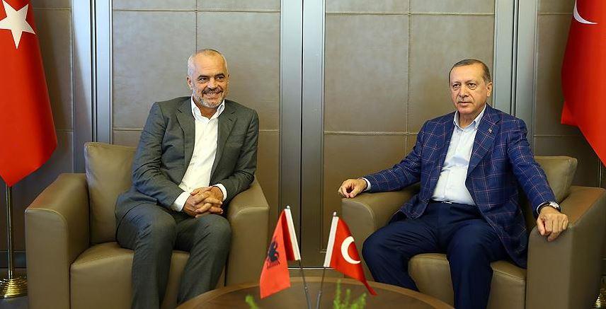 Kryeministri Rama takon Erdoganin