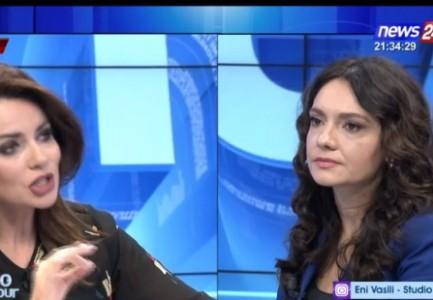 """""""Kafe fshati…"""" plas sherri mes Grida Dumës dhe Elisa Spiropalit"""