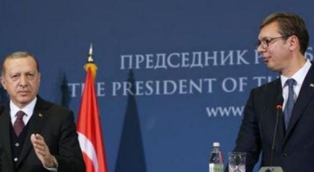 Vizita e Erdoganit në Serbi, nënshkruhen 12 marrëveshje