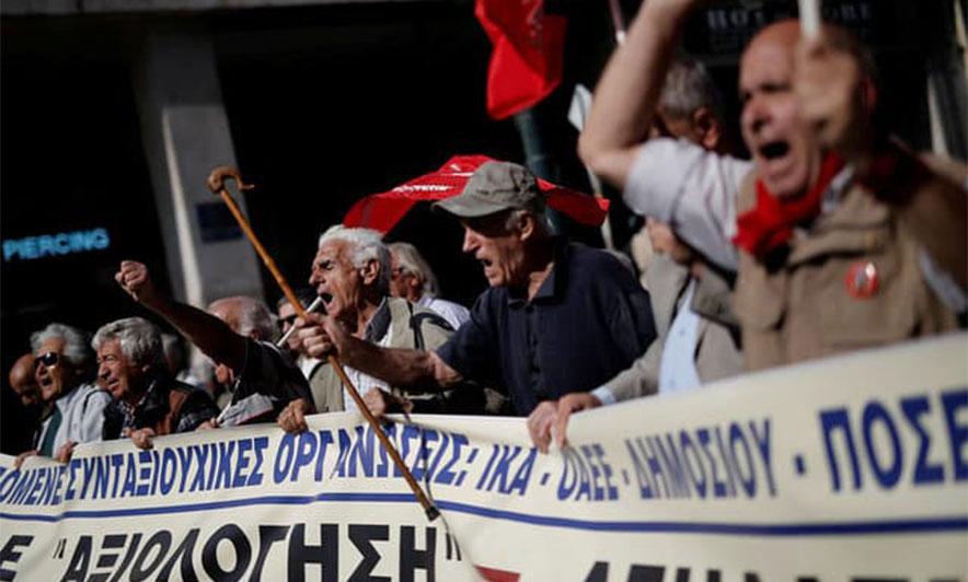 Greqi, pensionistët kundër reduktimit të radhës