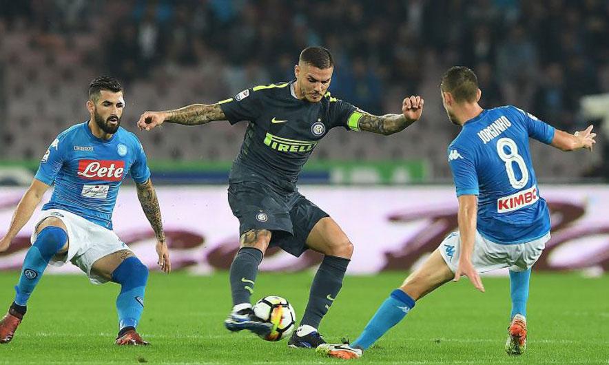 Në paqe përplasja për titullin, Napoli-Inter në barazim