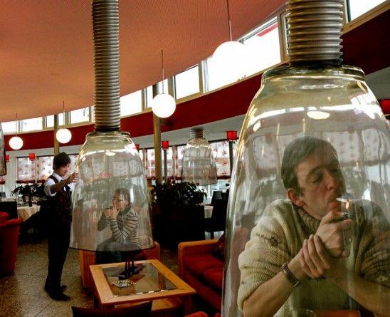 Japonia nxjerr shpikje për ata që pinë duhan në vende publike
