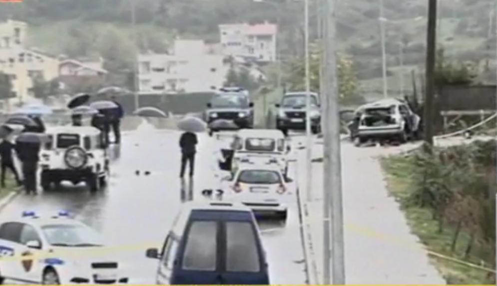 Hidhet në erë në Tiranë makina e një biznesmeni