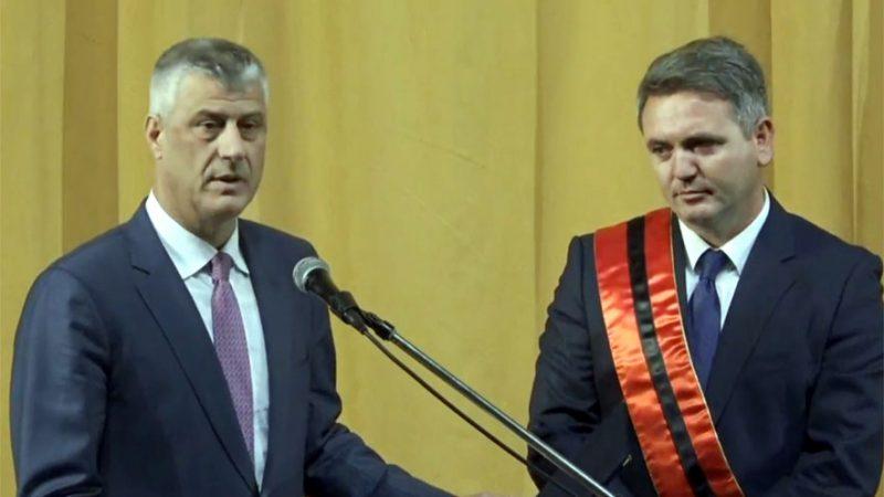 """Thaçi nderon Kukësin me """"Urdhri i Lirisë"""""""