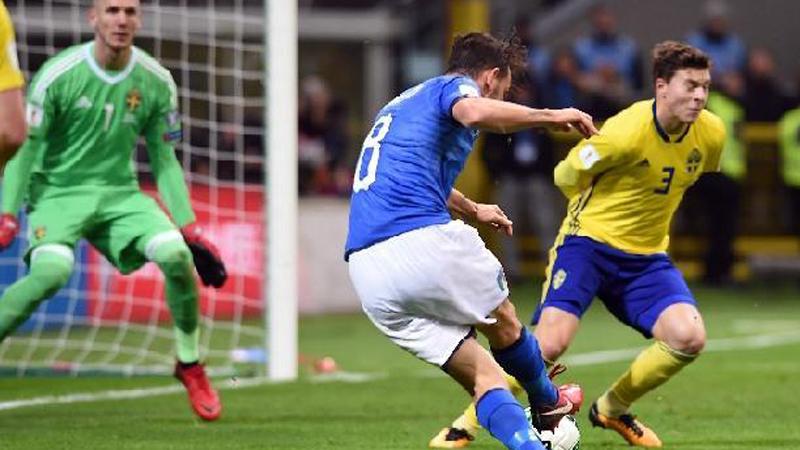 Italia i thotë lamtumirë Botërorit, lojtarët në lot