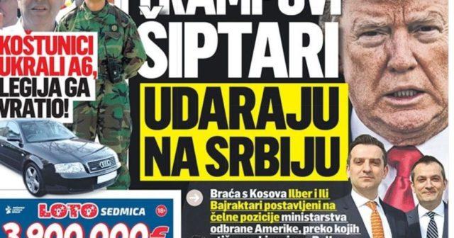 """Serbia alarmohet nga """"Shqiptarët e Trumpit"""" në Shtepinë e Bardhë dhe Pentagon"""