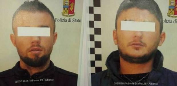 Heroinë në lavatriçe, pranga dy shqiptarëve në Itali (EMRAT)
