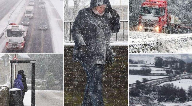 Bëhuni gati: Një stuhi e madhe dëbore po i afrohet Evropës