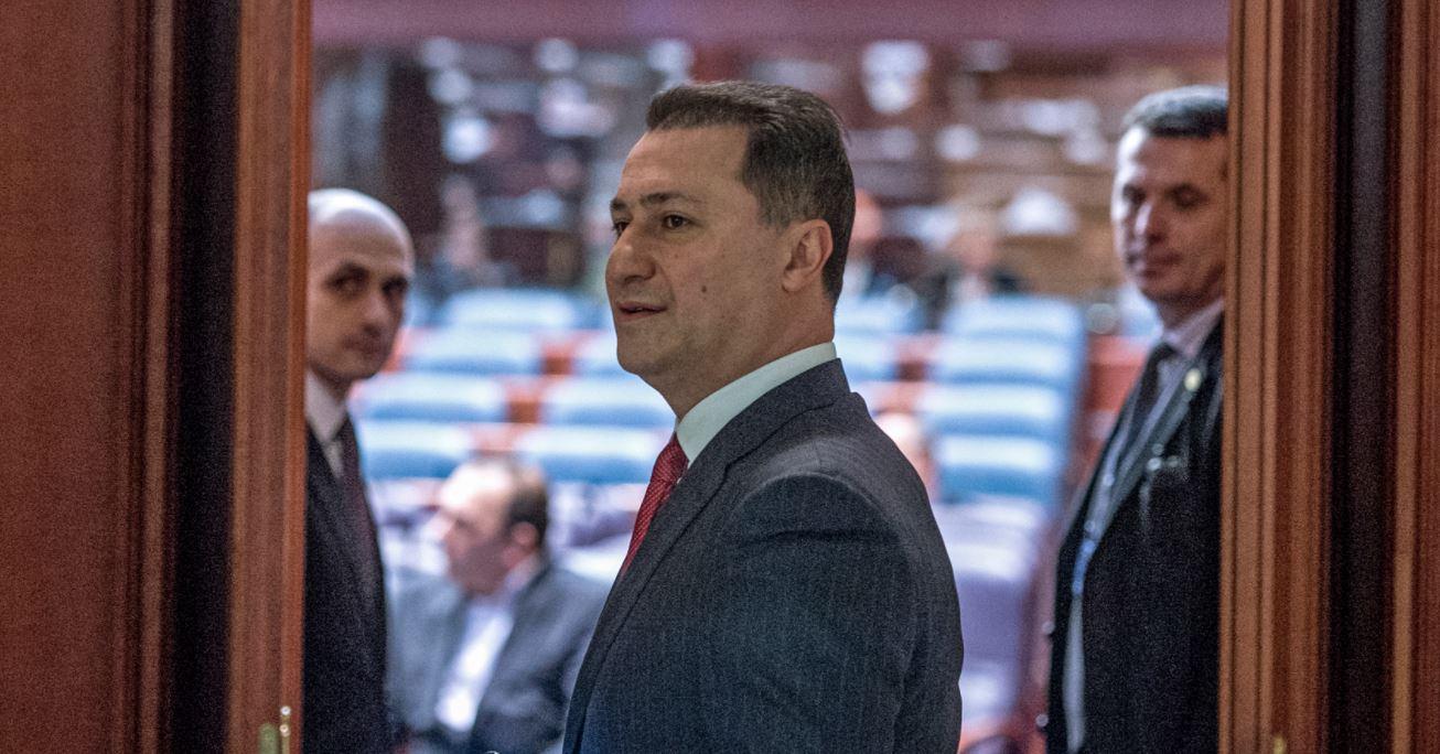 Gruevski dorëhiqet nga drejtimi i partisë