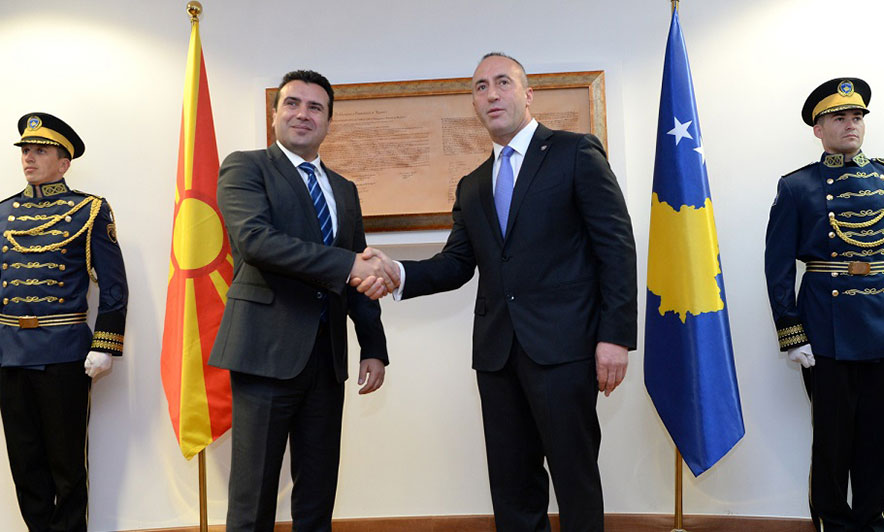 """Zaev, në Prishtinë: Mbështetje për UNESCO-n, hetim """"Kumanovës"""""""