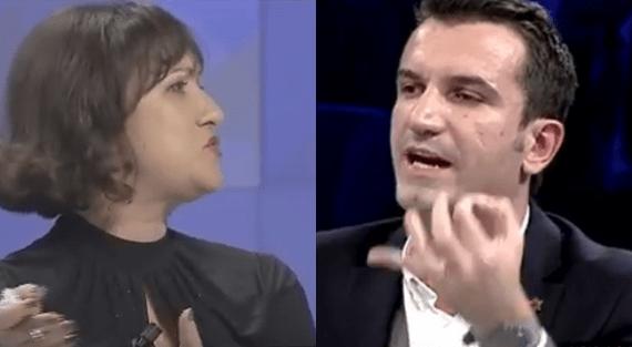 Shihni si Erion Veliaj kërcënon gazetaren 'Live' në emision: Pronari yt… /Video