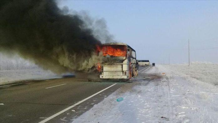 Digjet në Kroaci një autobus me pasagjerë shqiptarë
