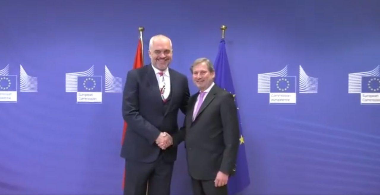 Shuplaka e rëndë për Ramën   Pa dialog me opozitën nuk ka BE
