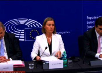 Zyrtare, Mogherini: KE rekomandon hapjen e negociatave me Shqipërinë