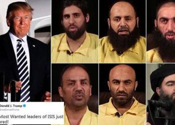 Arrestohen pesë nga terroristët më të kërkuar të ISIS