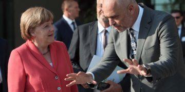 """A e kërkoi Merkel """"kokën"""" e Tahirit? Ironia e Ramës: Gjermania nuk është selia e PD"""