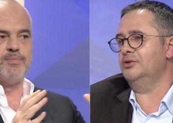 Edi Rama 'përplaset' LIVE me Samir Manen