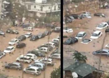 Përmbytje e mëdhe në Greqi, tetë shoferë shpëtojnë për mbrekulli (VIDEO)