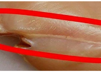 Nëse e shihni këtë vizë të bardhë te mishi, mos gaboni ta konsumoni