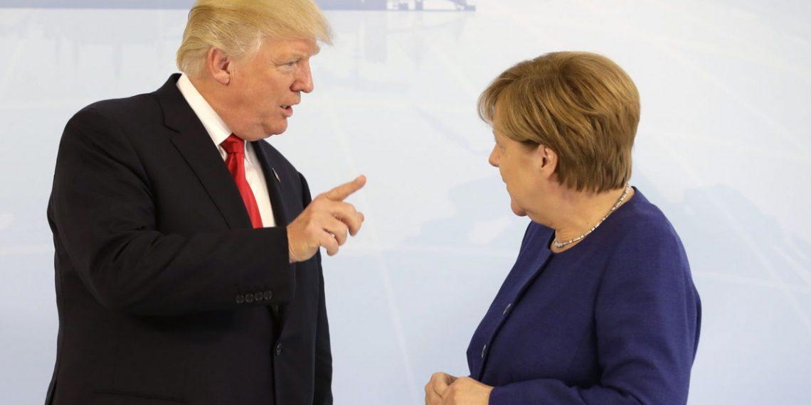Trump thotë që Gjermania është nën ndikimin e Rusisë, ja si i përgjigjet Merkel