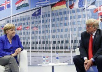 Merkel i'a 'tërheq veshin' Trumpit: Kush prek Malin e Zi na ka prekur neve