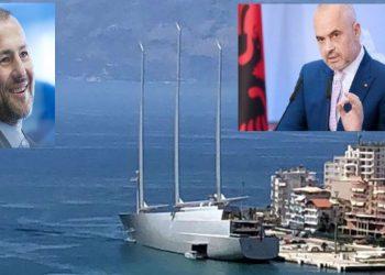 DASH e quan njeri të ngushtë të Putinit, Rama i 'lëpin' jahtin (VIDEO)