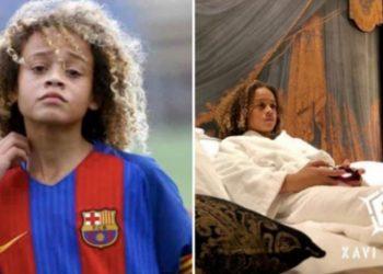Vetëm 15 vjeç, ylli më i ri i Barcelonës bën jetë të çmendur (FOTO-VIDEO)