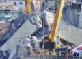 Publikohet momenti i shembjes së urës Morandi më 14 gusht, i kapur nga kamerat e sigurisë (VIDEO)