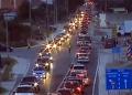 E diela e ferrit në Levan, mijëra makina në radhë