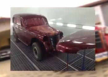 Kjo është makina më e vjetër në Kosovë, ka vulën e Hitlerit (VIDEO)