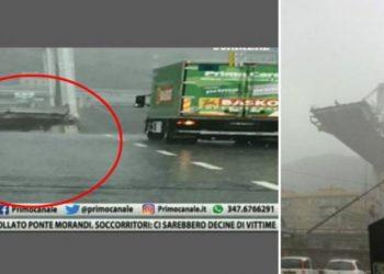 Një sekond larg vdekjes! Pamjet e këtij kamioni po çudisin botën (FOTO)