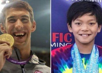 Notari 10-vjeçar thyen rekordin e Micheal Phelpsit në stilin flutur, shihet si e ardhmja e amerikanëve dhe njihet ndryshe si 'superman' (VIDEO)