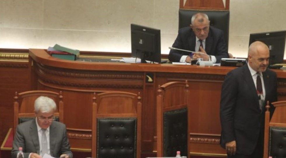 Kuvendi miraton dekretin e Presidentit për  Teatrin   opozita e bojkotoi