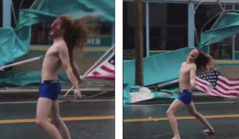 'Qejfli uraganesh', burri udhëton drejt Karolinës së Jugut për të sfiduar superstuhinë (VIDEO)