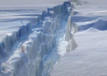 Shkrirja e akullnajave, shkencëtarët: Mure në fund të detit