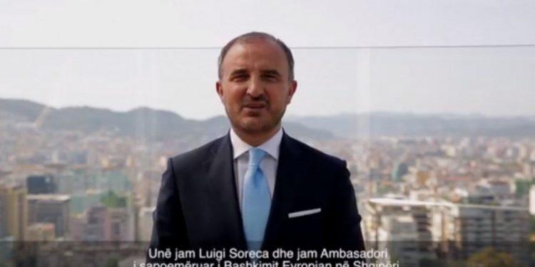 Ambasadori i ri i BE prezantohet me video mesazh: Të fusim Shqipërinë në BE, ja çfarë pres prej jush (VIDEO)