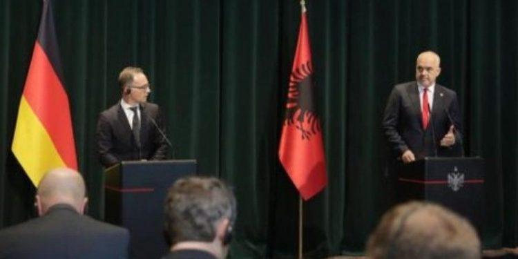Maas: Shqipëria konsiderohet spirancë e stabilitetit në rajon