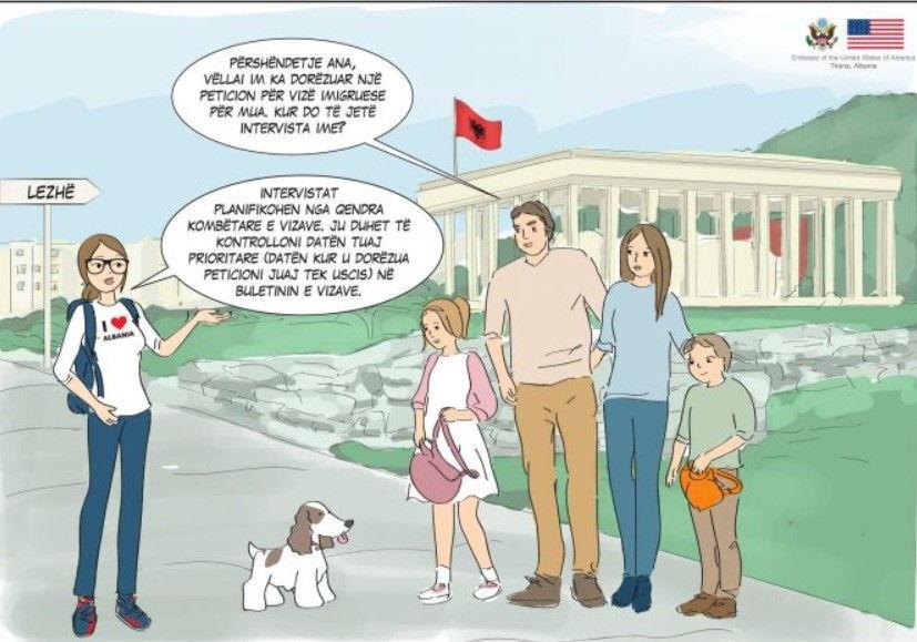 Vizat imigruese drejt SHBA  Ambasada  Ja ku duhet të drejtoheni