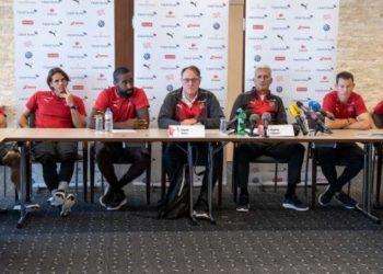 """Dorëzohen, Xhaka dhe Shaqiri kërkojnë falje për """"shqiponjën"""" ndaj Serbisë (FOTO)"""