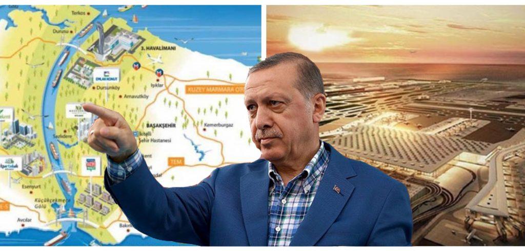 Erdogan nuk ka të ndalur, pas aeroportit më të madh në botë, ja projekti i radhës që synon (VIDEO)