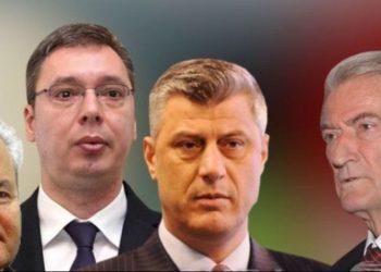 Berisha lëshon 'bombën': Vuçiç po realizon ëndrrën e Millosheviçit përmes Thaçit për 'Serbinë e madhe' (VIDEO)