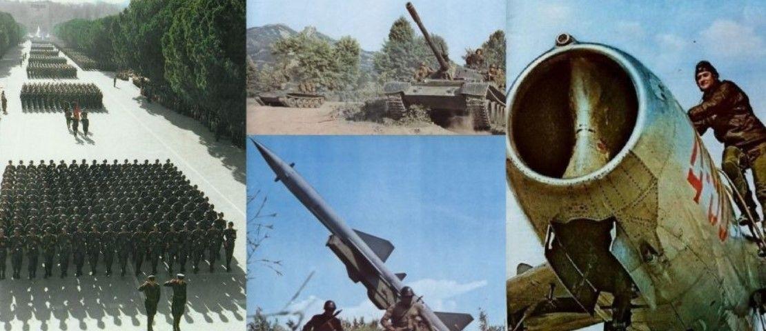 """DOSJE/ """"Parti Enver, jemi gati kurdoher"""", gatishmëria e armatës së viteve '80: Për 72 orë 750 mijë ushtarë """"nën armë"""" (FOTO)"""