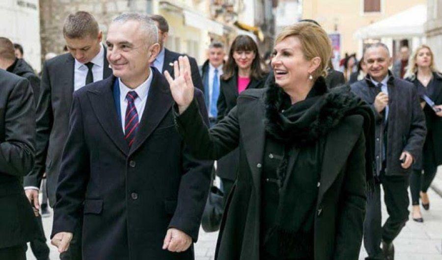 Presidenti Meta dhe presidentja Kroate Kitaroviq takojnë arbëreshët e Zarës