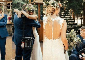 """""""""""Më la pa fjalë"""", 65 vjeçari me sëmundje terminale arrin të kërcejë me vajzën ditën e dasmës"""