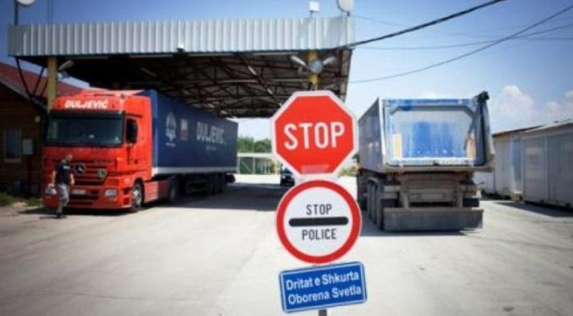 Prag lufte tregtare Kosovë Shqipëri  Nëse nuk hiqni barrierat  taksë 100
