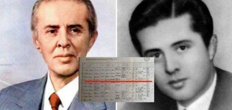 Dokumenti, Enver Hoxha ishte një injorant që ngeli katër herë në klasë