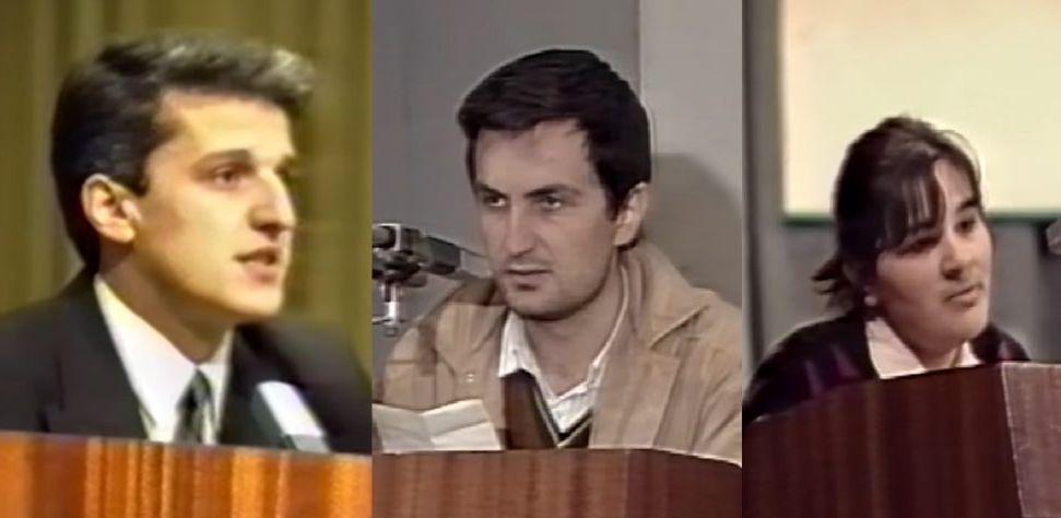 Si ishin Majko, Meta dhe Kryemadhi 25 vjet më parë (VIDEO)