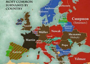 Kjo është historia e mbiemrave në botë dhe në Shqipëri