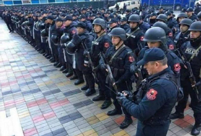 Policia merr masa të rrepta në 'Loro Boriçi' për ndeshjen, Shqipëri-Skoci